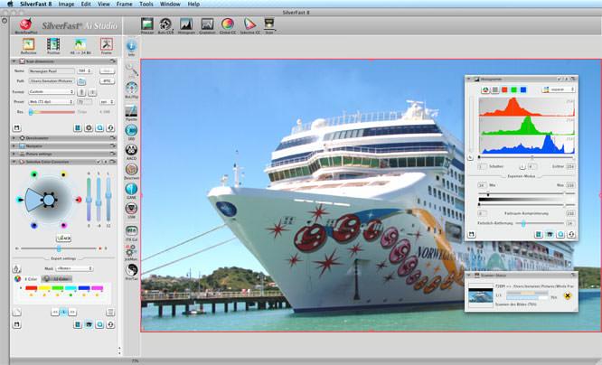 SilverFast 8 screenshot