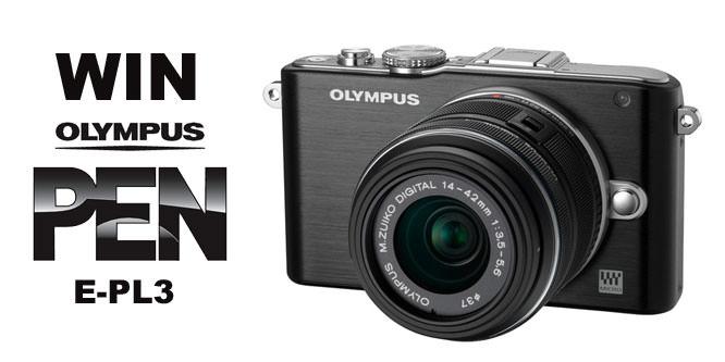 Olympus PEN E-PL3 Camera