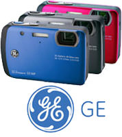GE waterproof cameras