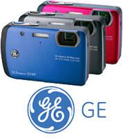 GE waterproof cameras