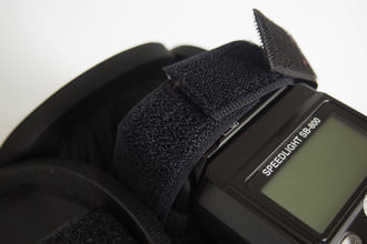 Lastolite Ezybox Speedlite - fastening Velcro