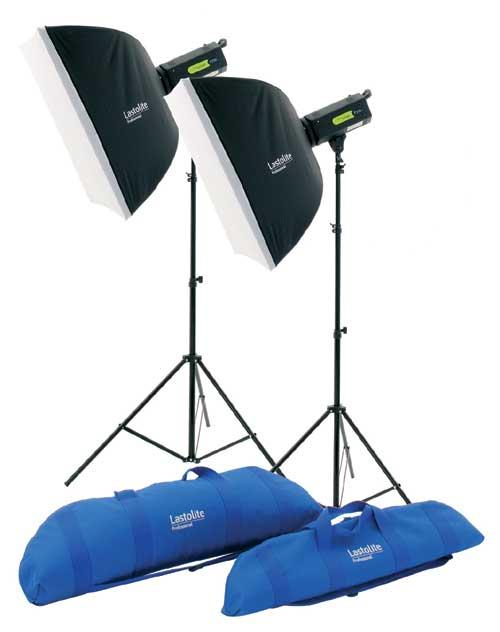 Lastolite Lumen8 SV 400w Soft Box Lighting Kit