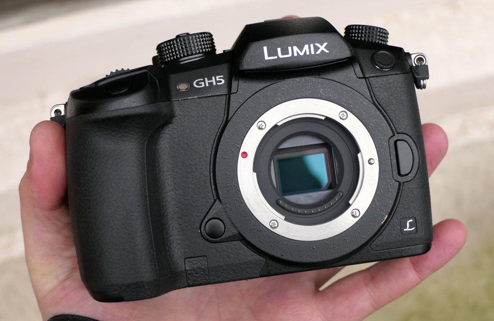 Panasonic Lumix GH5 In Hand (3)