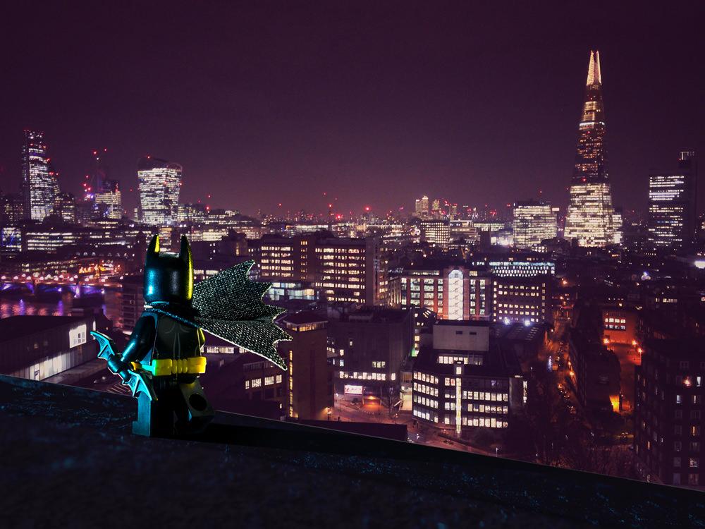 Batman rooftops