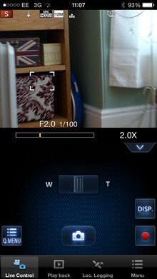 Leica C Image Shuttle App Screenshot 1