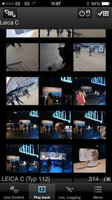 Leica C Image Shuttle App Screenshot 3