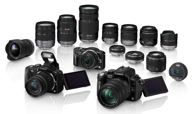 Panasonic Lumix GF3, G3, GH2, and Lenses