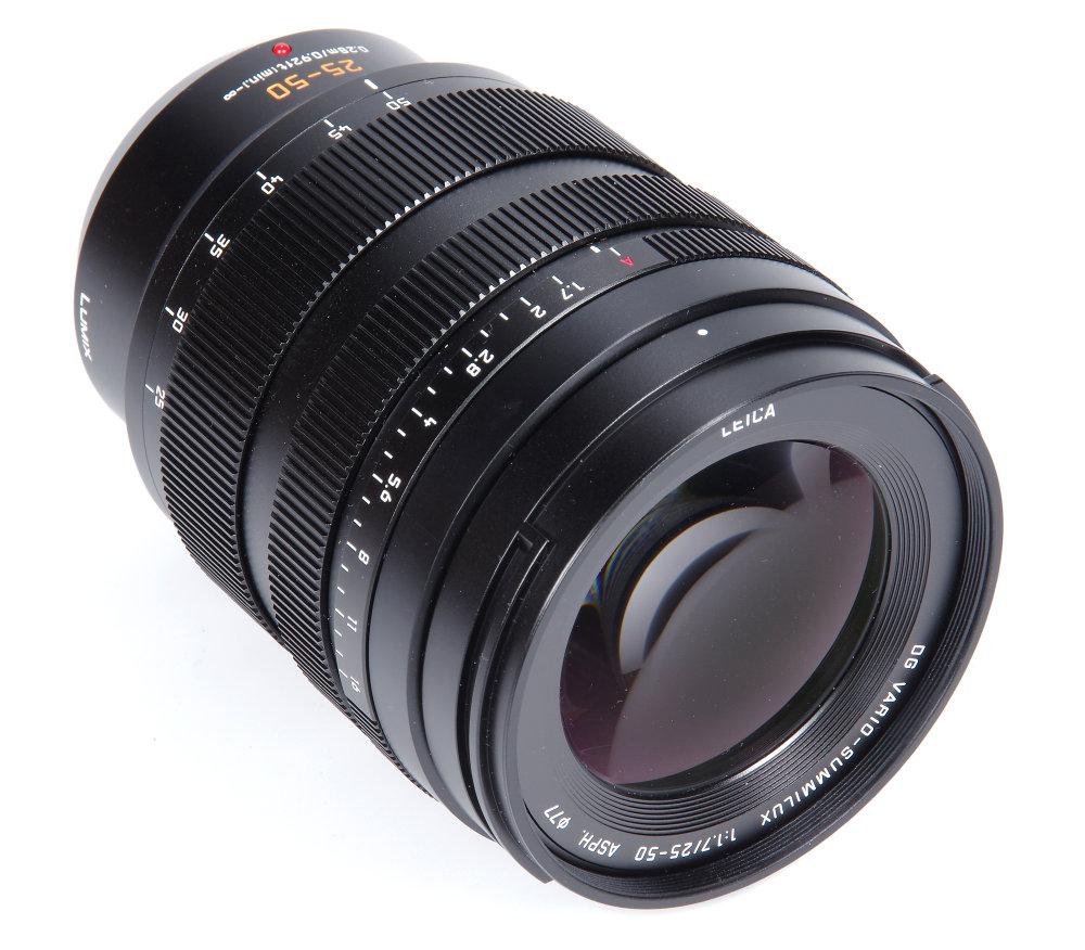 Leica Dg Vario Summilux 25 50mm F1,7 Front Oblique View | 1/4 sec | f/16.0 | 78.0 mm | ISO 100