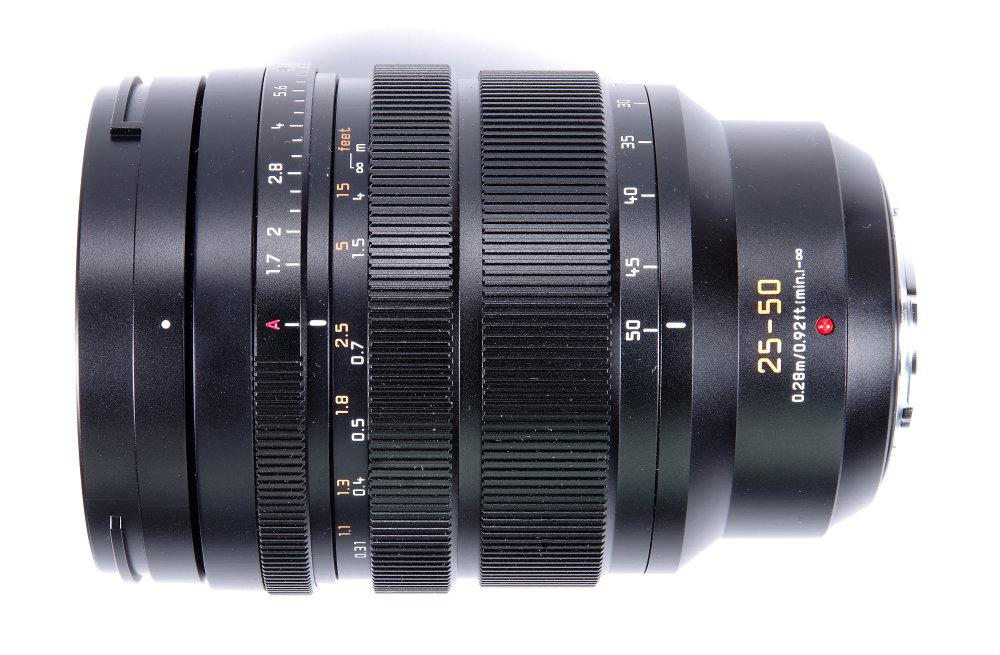 Leica Dg Vario Summilux 25 50mm F1,7 Top View MF Position | 0.5 sec | f/16.0 | 68.0 mm | ISO 100