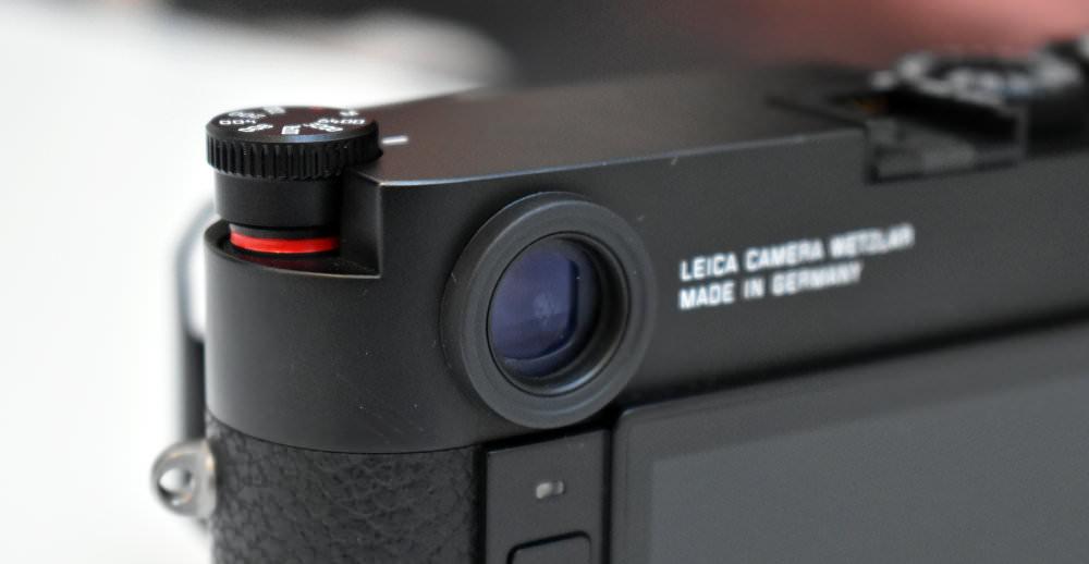 Leica M10 ISO Dial 1