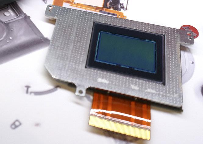 Leica M8 Sensor Close Up