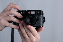 Leica M9 front view