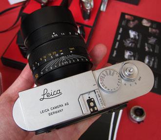 Leica M9-P with Noctilux 0.95