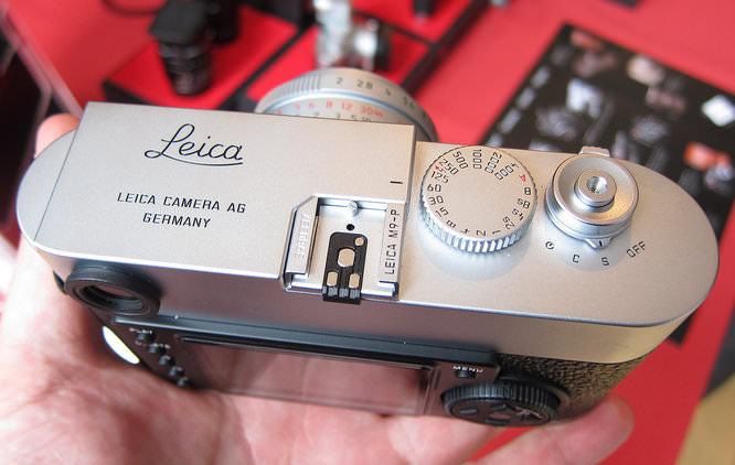 Leica M9-P Top