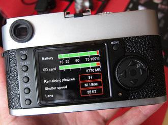 Leica M9-P Back