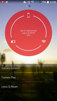 Leica Q Remote App