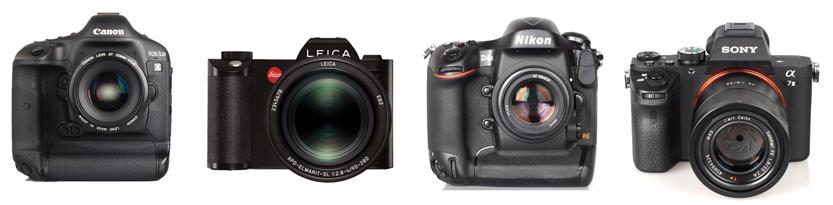 Leica SL (Typ 601) , Canon 1DX & Nikon D4s