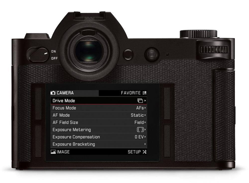Leica SL Back GUI Design