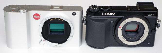Leica T Panasonic Lumix Gx7