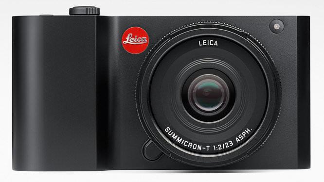 Leica T Black Front Crop