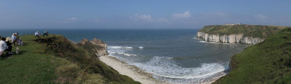 Thornwick Bay Panoramic   1/2500 sec   f/4.0   9.1 mm   ISO 125