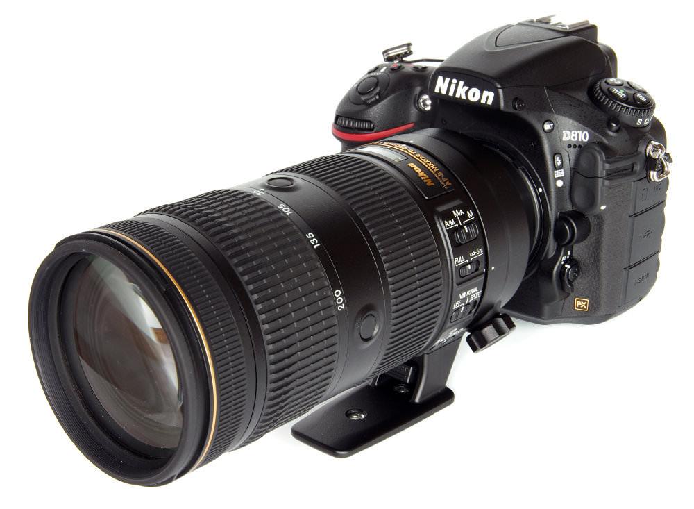 Nikkor 70 200mm F2,8 Fl Ed Vr On Nikon D810
