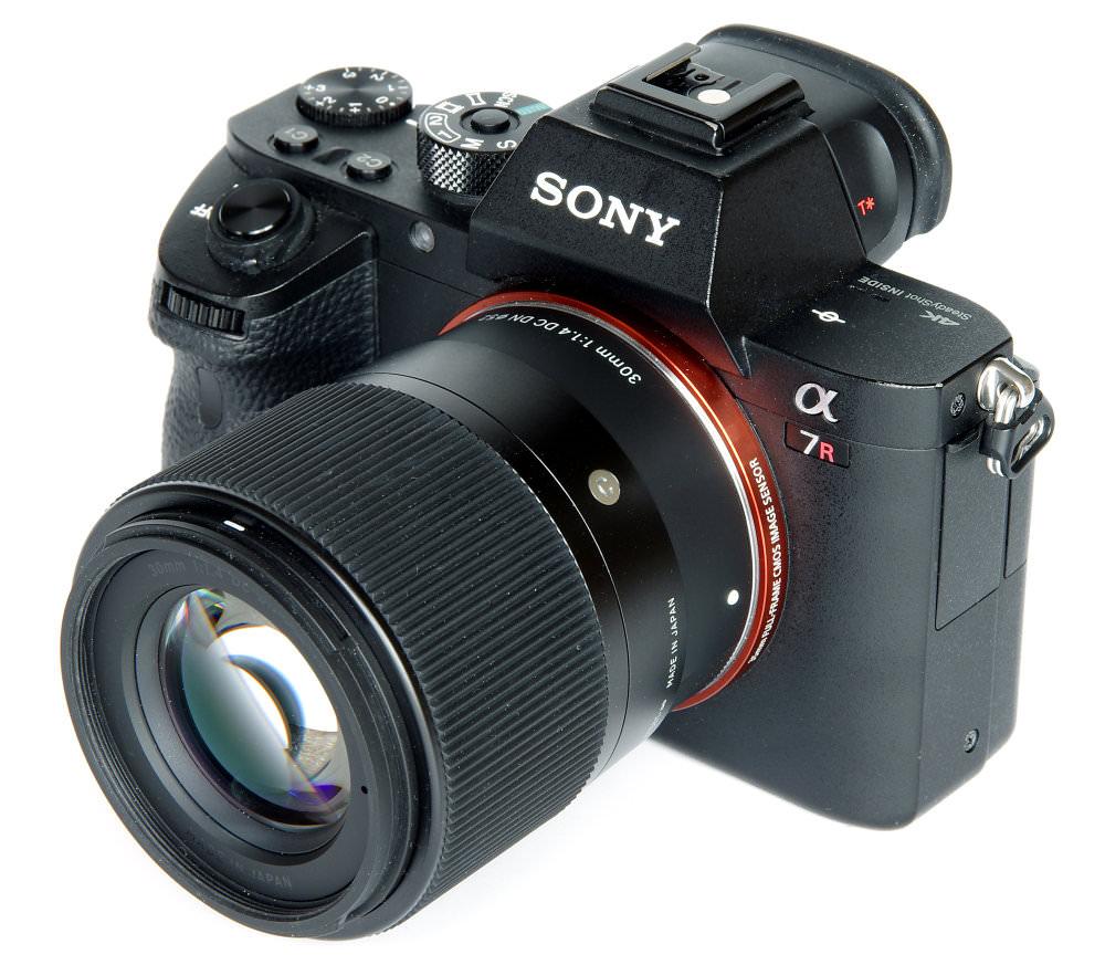 Sigma 30mm F1,4 Dc Dn Contemporary On Sony 7r Ii