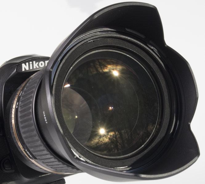 Nikon camera lens hood