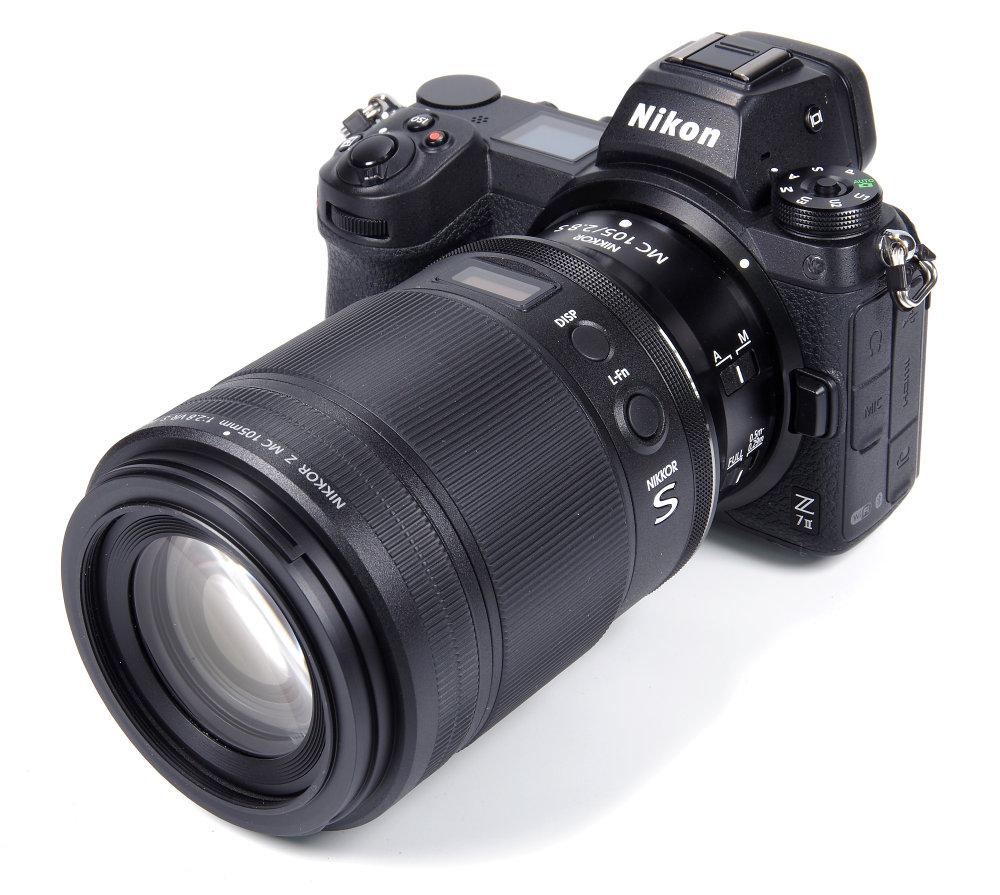 Nikkor Z Mc 105mm F2,8 Vr S On Nikon ZII