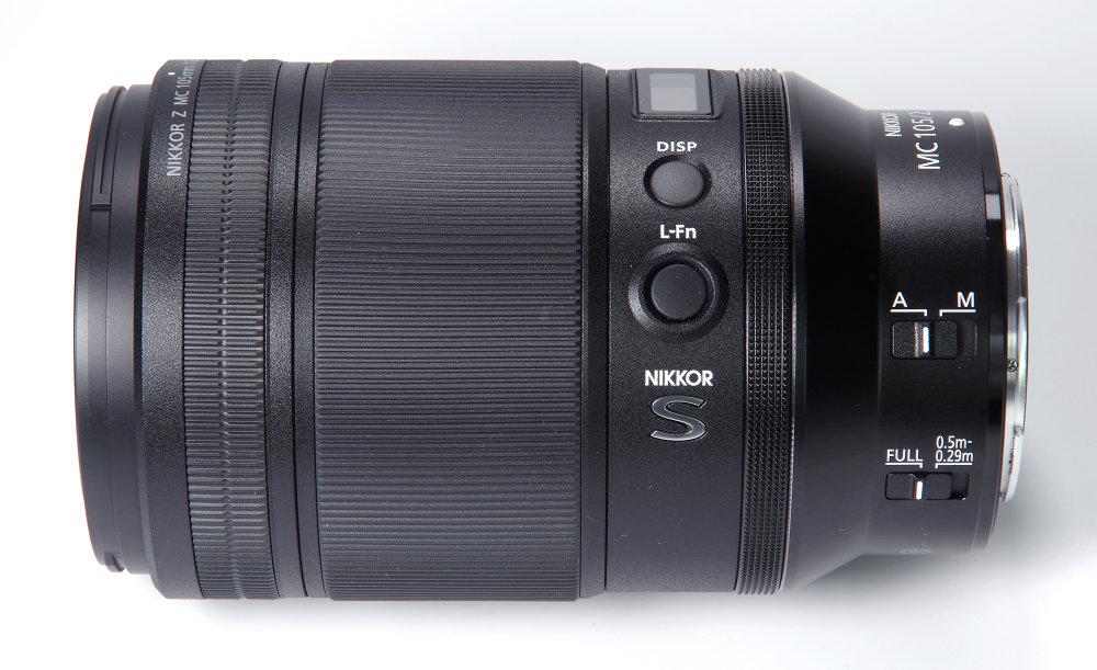 Nikkor Z Mc 105mm F2,8 Vr S Side View