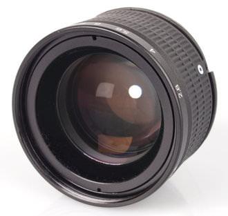 Lensbaby Edge80 Aperture Closed