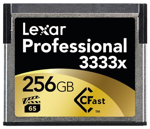 Lexar 3333x CFast card