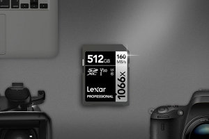 Lexar Introduces Professional 1066x SDXC UHS-I Memory Card Silver Series