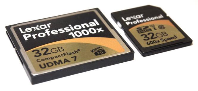 Lexar Professional Compact Flash 1000x Sdhc 600x