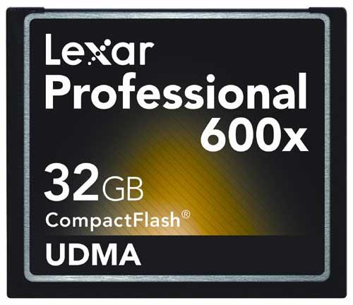 Lexar Professional 600X 32GB CF Card