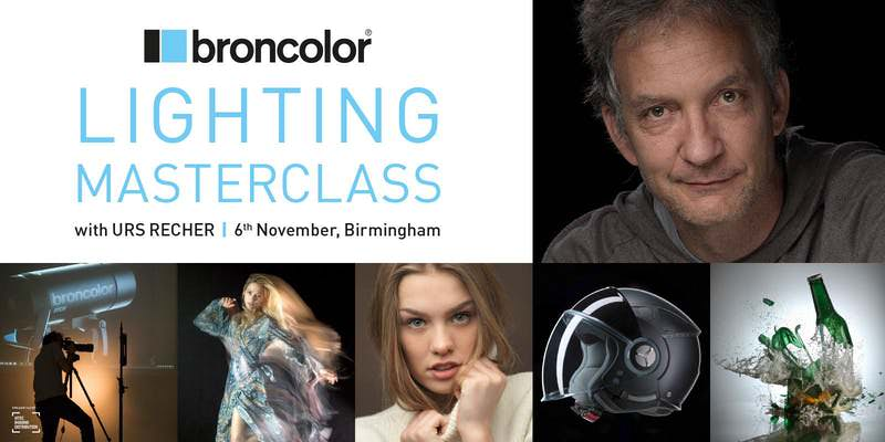 broncolor photographer Urs Recher for a master class on studio lighting and light shapers.