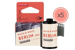 Lomography Berlin Kino B&W Film Released