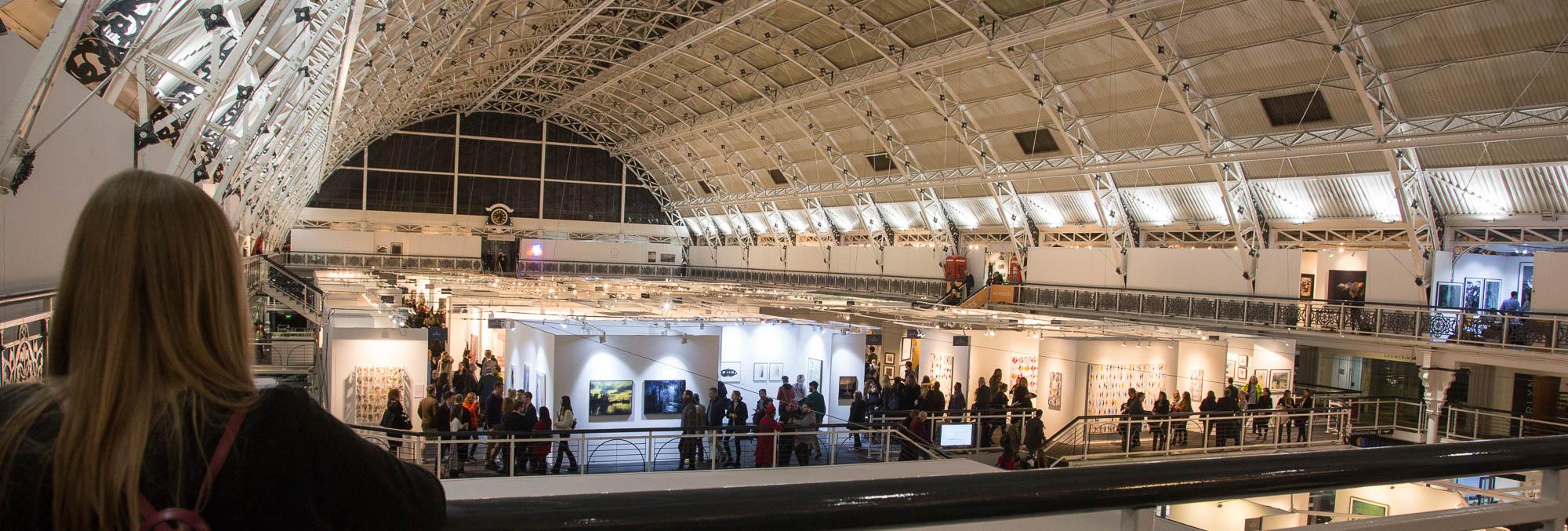 London Art Fair and Photo50 at the design centre near Islington