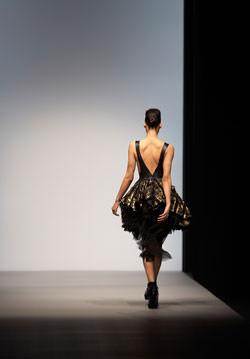 London Fashion Weekend Model