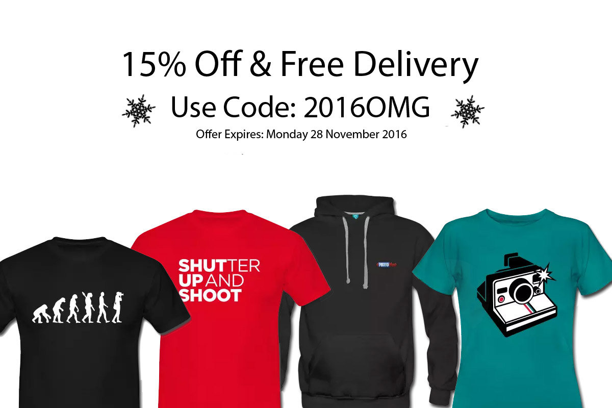 15% Off & Free Delivery In ePHOTOzine Shop