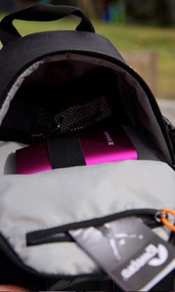 Lowepro SlingShot 202 camera bag top compartment