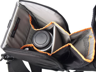 Lowepro Street and Field Lens Exchange Case 200AW - interior