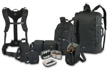 Lowepro S Amp F Series Camera Bags