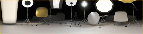 Luxology studio lighting & illumination Kit