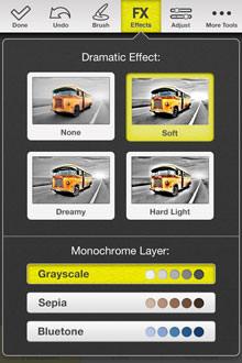 MacPhun Color Splash Studio iPhone App Screenshot 2