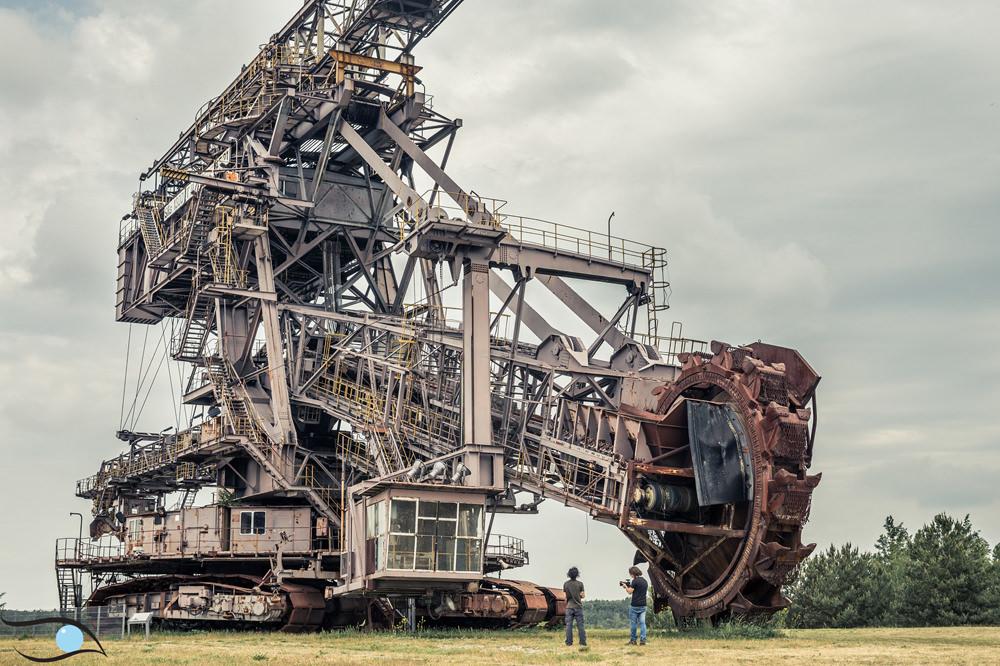 Strip mine Germany