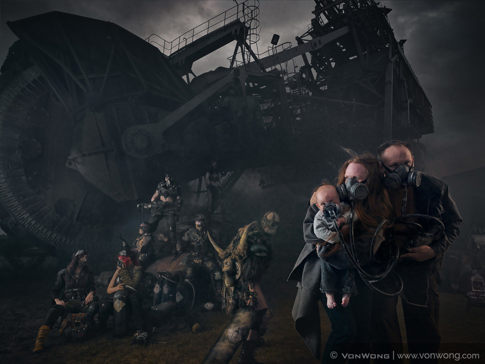 Family in the post-apocalyptic world