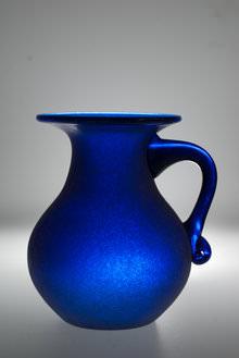 Vase Lit with speedlite from underneath