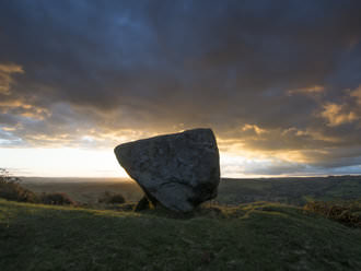 Baslow Edge The Anvil rock | 1/20 sec | f/14 | 9mm | ISO 200