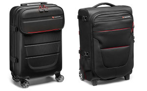 Manfrotto Adds 4 Carry-On-Sized Trolleys To  Pro Light Reloader Collection